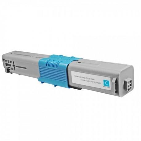 44469706 Toner compatibile Ciano OKI C310 C530 C330 MC351 MC561