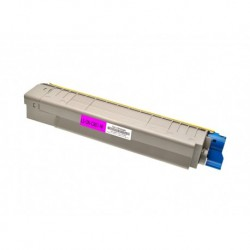Toner compatibile Magenta Per OKI C801DN C801N C821DN C821N