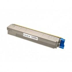 44643004 Toner compatibile Nero Per OKI C801DN C801N C821DN C821N