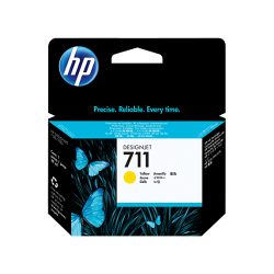 Cartuccia HP 711 da 29 ml giallo (CZ132A)