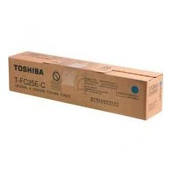 TONER CIANO Type T-FC25E-C TOSHIBA per e-STUDIO 2040-2540-3540-4540 6AJ00000072