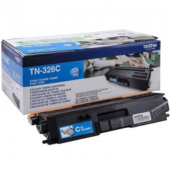 ORIGINAL Brother toner ciano TN-326C ~3500 PAGINE