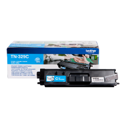 ORIGINAL Brother toner ciano TN-329C ~6000 PAGINE