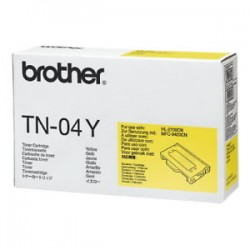 ORIGINAL Brother toner giallo TN-04y ~6600 PAGINE