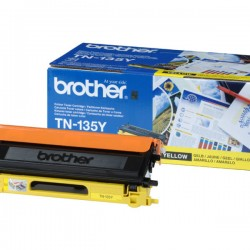 ORIGINAL Brother toner giallo TN-135y ~4000 PAGINE