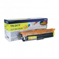ORIGINAL Brother toner giallo TN-241Y ~1400 PAGINE
