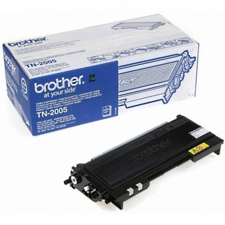 ORIGINAL Brother toner nero TN-2005 ~1500 PAGINE