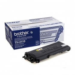 ORIGINAL Brother toner nero TN-2110 ~1500 PAGINE