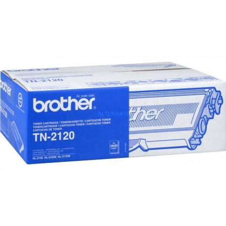 ORIGINAL Brother toner nero TN-2120 ~2600 PAGINE