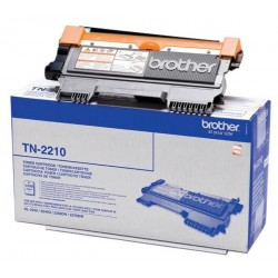 ORIGINAL Brother toner nero TN-2210 ~1200 PAGINE
