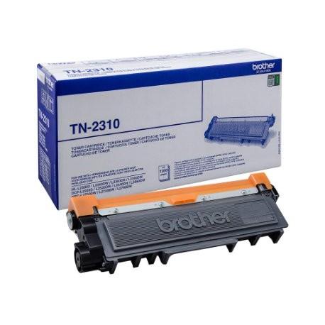 ORIGINAL Brother toner nero TN-2310 ~1200 PAGINE