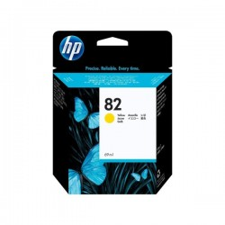 CARTUCCIA HP82 GIALLO (69 ML) C4913A