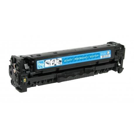 CC531A CRG718 Toner compatibile HP E CANON Ciano LBP 7200 7660 Laserjet CM2320 CP2020 2025 MF 8330 8450 8580
