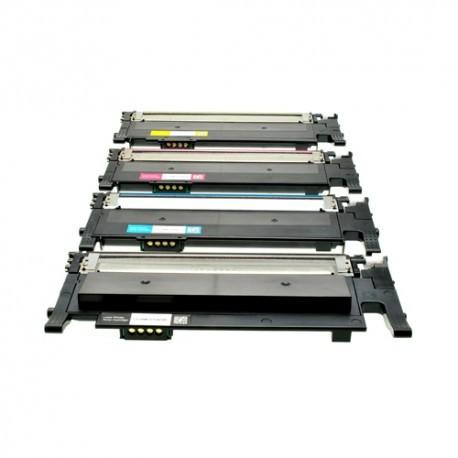 CLT-406S KIT 4 TONER COMPATIBILI PER SAMSUNG CLP360 365 CLX 3300 3305 Xpress C410 460