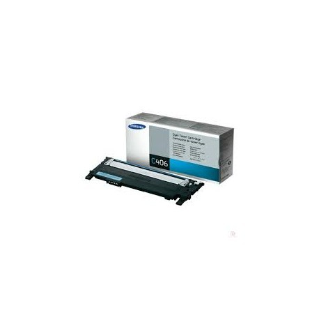 CLT-C406S Toner compatibile Ciano Samsung CLP 360 365 CLX 3300 3305 Xpress C410 C460