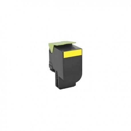 CS310 410 510 Toner Compatibile Per Lexmark Giallo 3000 PAGINE