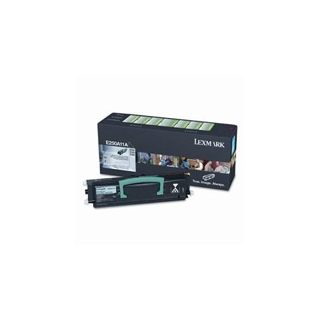 E250A11E Toner compatibile Nero Per Lexmark E250D E250DN E350 E350D E350DN E352 E352DN