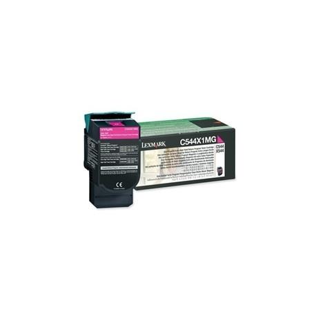 Toner compatibile Lexmark Magenta C544X1MG